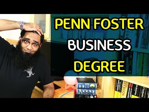 Is the Penn Foster College Business Management Bachelor's Degree Online Worth it ? [4K]