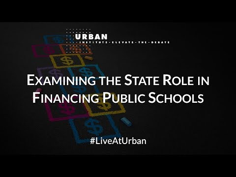 Examining the State Role in Financing Public Schools