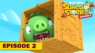 Angry Birds Slingshot Stories S2    Pigs To The Rescue Ep.2