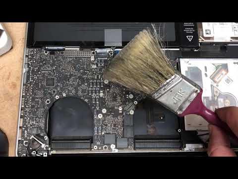 Macbook pro 15 2012 fan cleaning