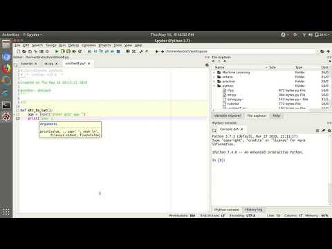 Python Tutorial 4 : Convert String into Int Data Type thumbnail
