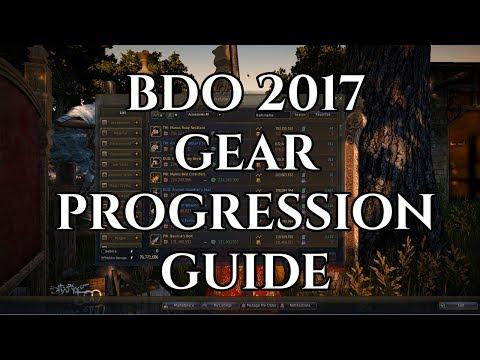 BDO 2017 Gear Progression Guide [Black Desert Online]