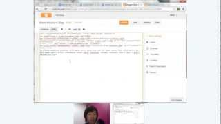 Hangout on Air: Advanced Posting with Blogger's HTML Editor thumbnail