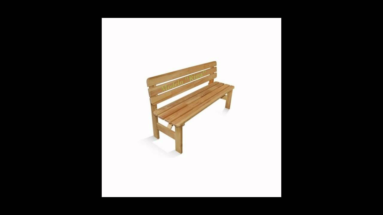 Muebles de madera para jard n bancos de jard n tienda for Madera para jardin