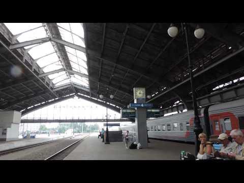Калининград. Перрон Южного вокзала