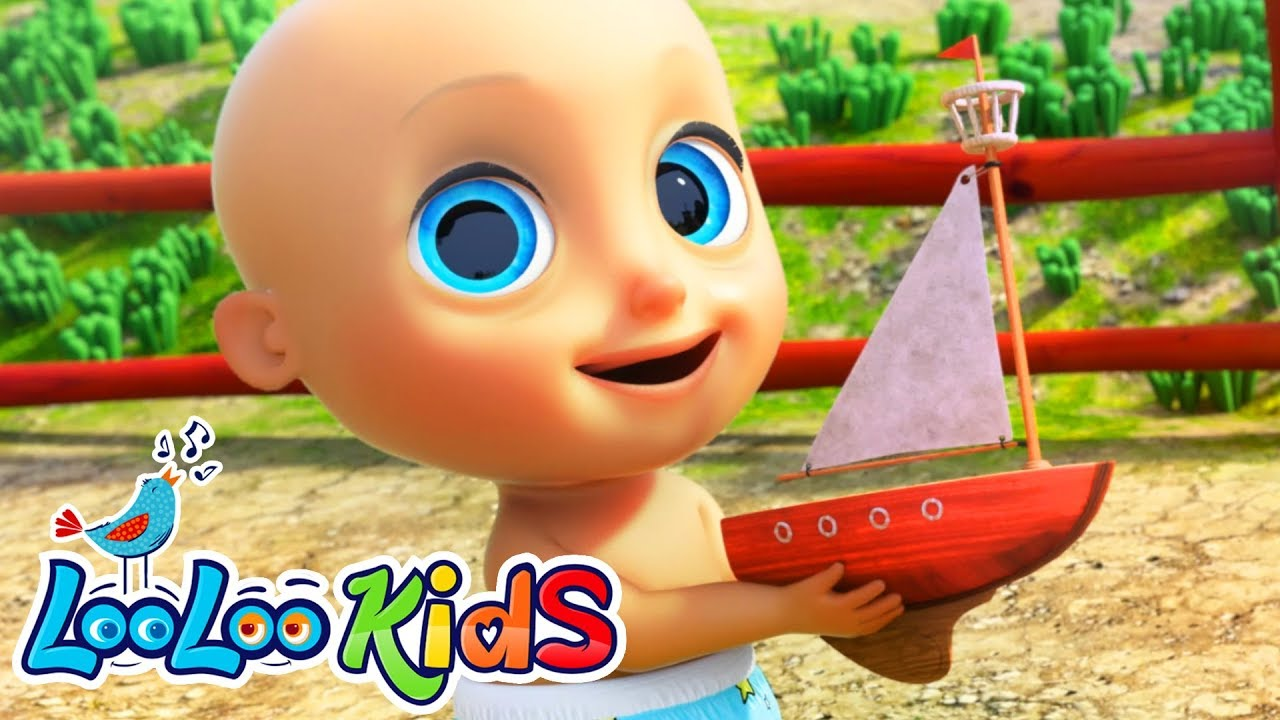 Row, Row, Row Your Boat -  LooLoo Kids Nursery Rhymes for Kids
