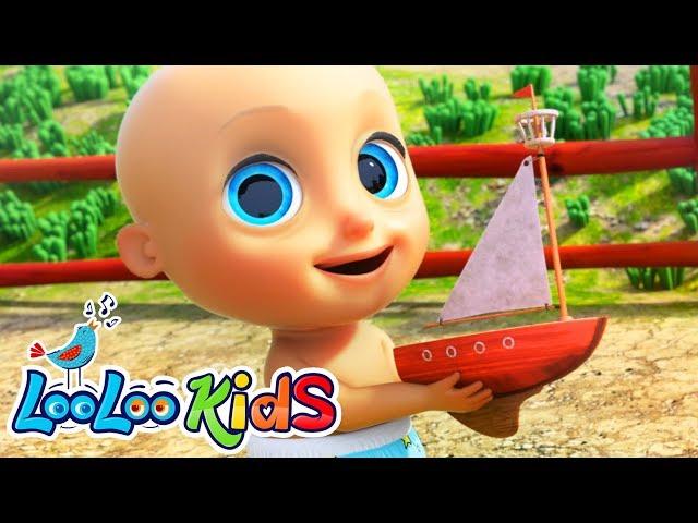 Row, Row, Row Your Boat -  LooLoo Kids Nursery Rhymes for Kids