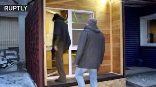 'Cryptohouse' heated by bitcoin generation keeps miners toasty in Siberia