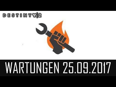 """Destiny 2 """"WARTUNGSARBEITEN 25.09.2017"""" - Server Down! (German/Deutsch)"""