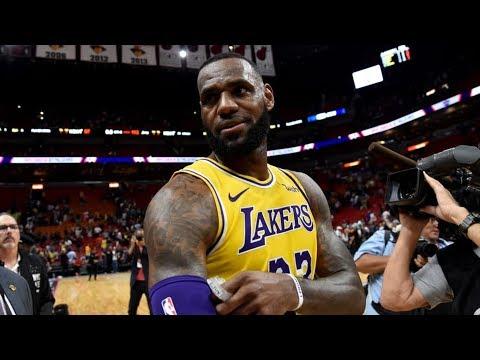 LeBron James 51 Points vs Heat! Richardson Ejected! 2018-19 NBA Season