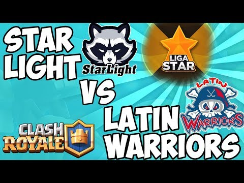 RISA Y DIVERSION LIGA STAR | STAR LIGHT vs LATIN WARRIOR | CLASH ROYALE |