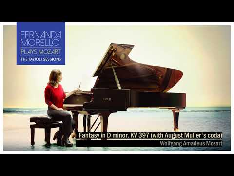 Fantasy in D minor, KV 397 (with August Muller's coda) - W.A. Mozart by Fernanda Morello