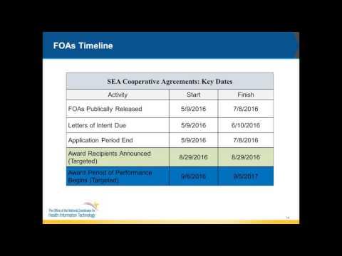 SEA FOA Info Session