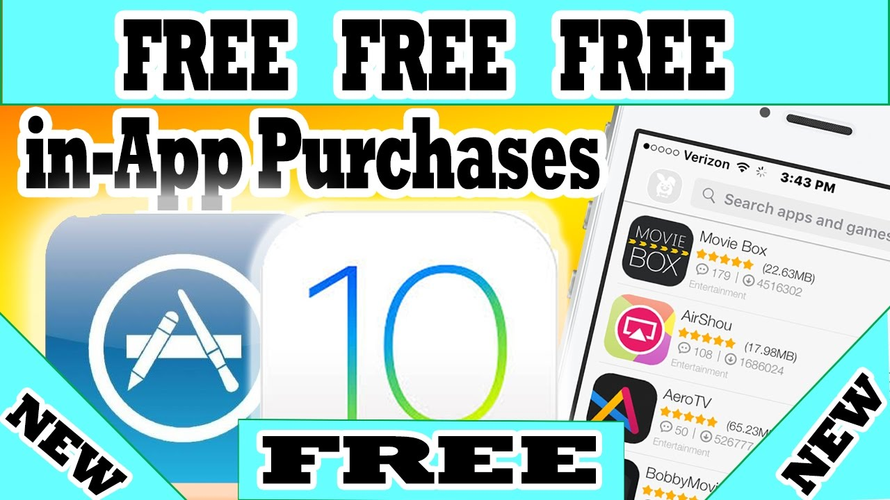 install FREE IN-APP Purchases iOS 10 - 10 3 1 NO Jailbreak or Computer  iPhone iPad iPod