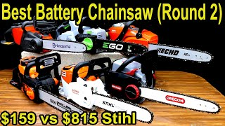 Best Battery Powered Chainsaw Brand (Round 2)? Let's find out!