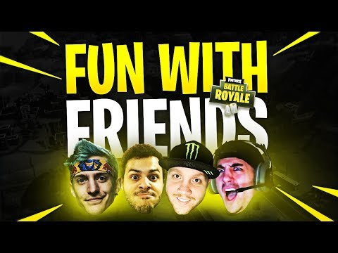LAUGHTER & LOUD NOISES!! (ft. Ninja, Marcel & Nickmercs) | Fortnite Battle Royale Highlights #127