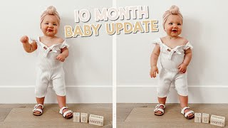 10 month baby update! + making vegan pot pie