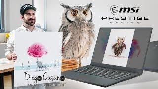 MSI PS63 Modern & Diego Cusano | Creatività in movimento