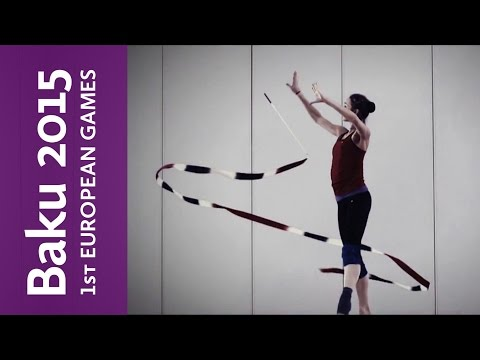 Azeri rhythmic gymnast Durunda aims to make nation proud | Baku 2015