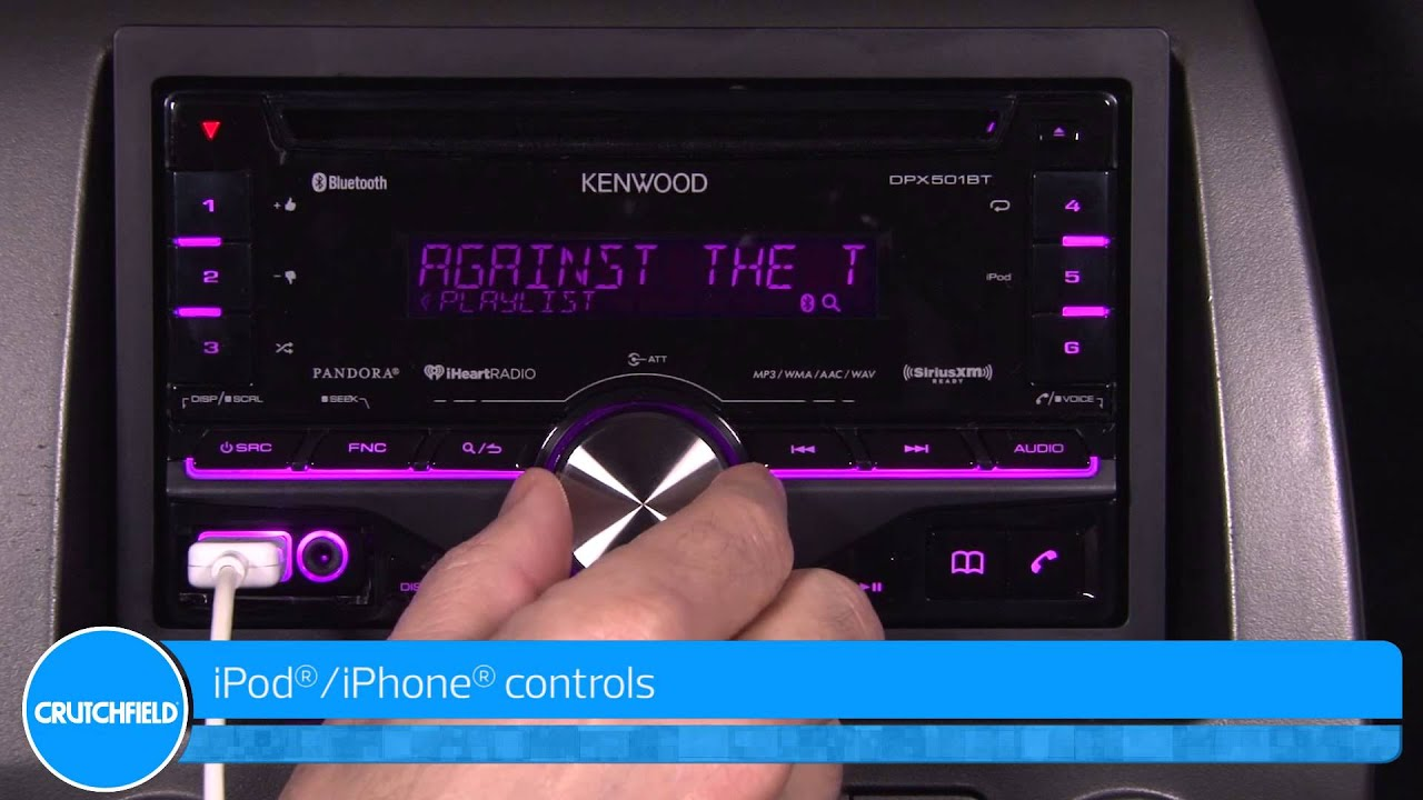 maxresdefault kenwood dpx501bt display and controls demo crutchfield video  at soozxer.org