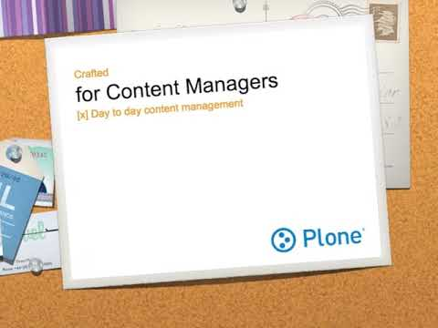 Plone- A complete content management system