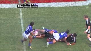 USA Sevens 2012 Cup Final: New Zealand vs Samoa - 1st half
