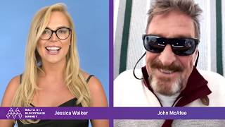 """2 MILLION BY 2020???"" BITCOIN MATH WITH MCAFEE!"
