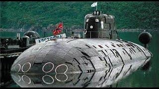 美核潜艇不听警告闯入领海,俄巨兽全速冲击,直接将其撞残