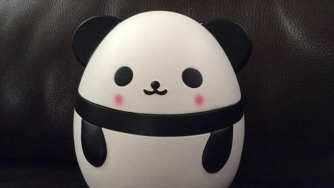Panda Egg Squishy - YouTube