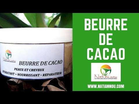 DIY CONFECTION DE BEURRE DE CACAO - PARTIE I