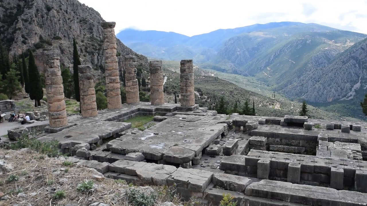 Temple of Apolllo at Delphi