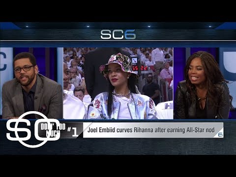 Would Joel Embiid pick up the phone if Rihanna called? | SportsCenter | ESPN