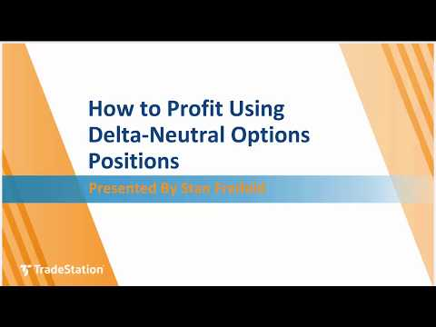 How to Profit Using Delta-Neutral Options Positions
