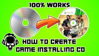 How to create a game installing CD/DVD | How to burn game into a disc | PowerIso | GameLeast