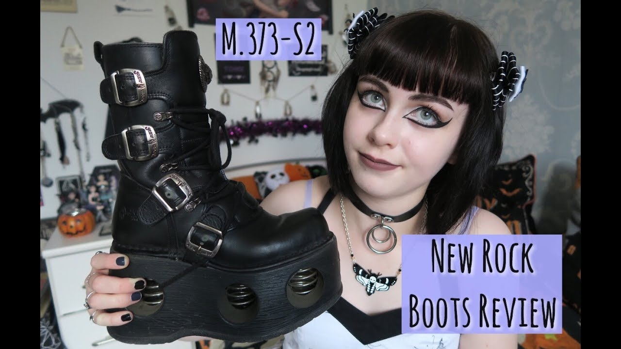 [VIDEO] - NEW ROCK SPRING BOOTS REVIEW 1
