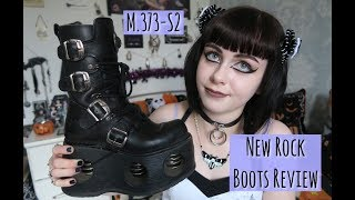 NEW ROCK SPRING BOOTS REVIEW Video