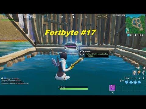 Fortbyte #17 Location - Fortnite Season 9