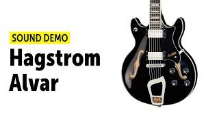 Hagstrom Alvar - Sound Demo (no talking)