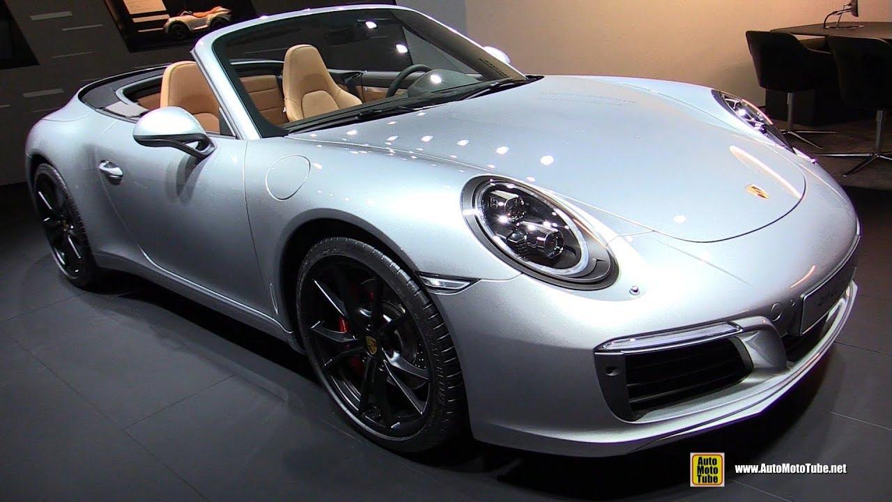 2018 Porsche 911 Carrera S Convertible Exterior And Interior