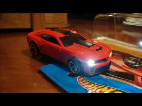 Custom Camaro Zl1 Hot Wheels 2012 Led Youtube
