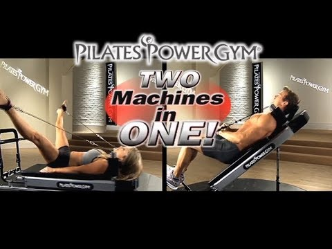 Affordable muscle building and pilates reformer equipment for men and women