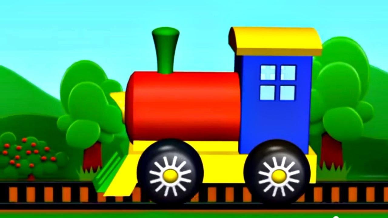Mon petit train jeu d 39 assemblage dessin anim en fran ais youtube - Train en dessin ...