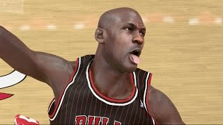 NBA 2K14 100 Point Challenge - Michael Jordan