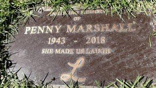 #1165 PENNY MARSHALL & GARRY MARSHALL Graves - Jordan The Lion Daily Travel Vlog (10/15/19)