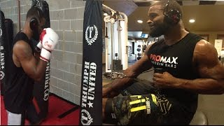Tyron Woodley training 2017 UFC 209 Stephen Thompson II