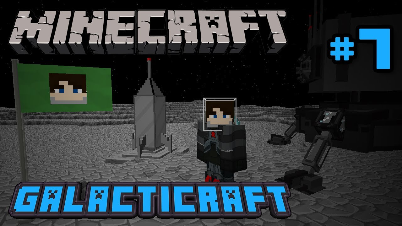 Minecraft 1 6 Ftb Galacticraft S2e07 Nasa Workbench