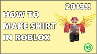 How to MAKE SHIRT in Roblox 2019!!!| FAST&EASY