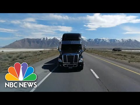 Truck Drivers Keeping America Supplied During Coronavirus Crisis | NBC Nightly News