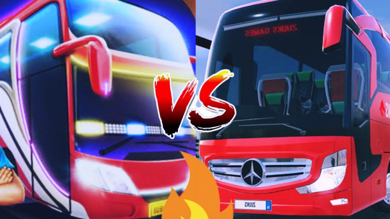 Download Bus Simulator Indonesia vs Bus Simulator Ultimate    BUSSID vs BSU comparison