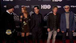 Members of The Cure on the 2019 Induction Ceremony Red Carpet Show